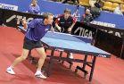 18-21 октября 2007 года, Санкт-Петербург. ITTF pro tour EUROSIB Открытый чемпионат России по настольному теннису. Кирилл Скачков, Россия (справа).