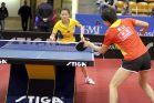 18-21 октября 2007 года, Санкт-Петербург. ITTF pro tour EUROSIB Открытый чемпионат России по настольному теннису. №32 Peng Luyang, Китай (слева на приеме).