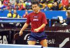 18-21 октября 2007 года, Санкт-Петербург. ITTF pro tour EUROSIB Открытый чемпионат России по настольному теннису. №21 Chen Weixing, Австрия.