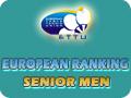 Мужчины, рейтинг настольного тенниса ETTU