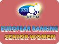 Женщины, рейтинг настольного тенниса ETTU